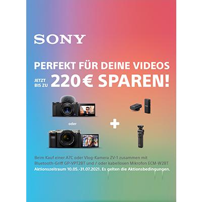 Sony Sommer-Aktion