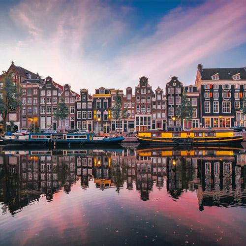 Schönes Amsterdam - Bild von Roger Janssen