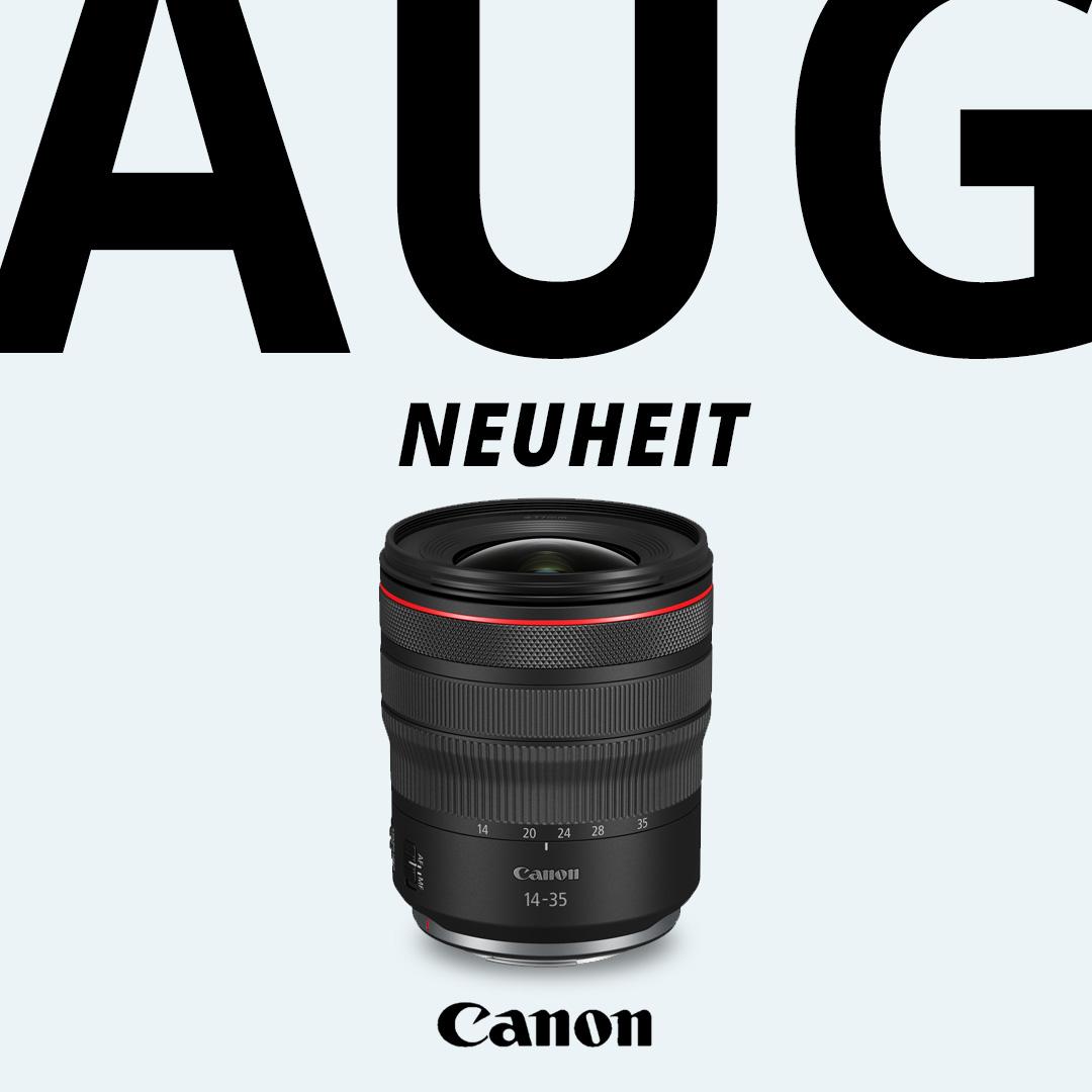 Neuheit Canon RF 14-35mm F4L IS USM Objektive